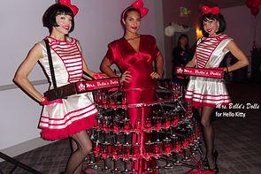 strolling champagne skirt