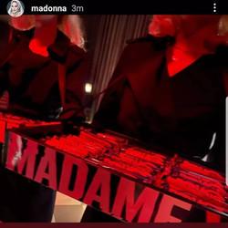 Madonna Madame X premier