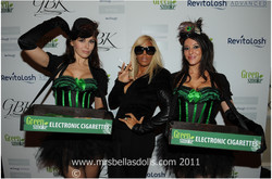 candy girls backstage Fashion week