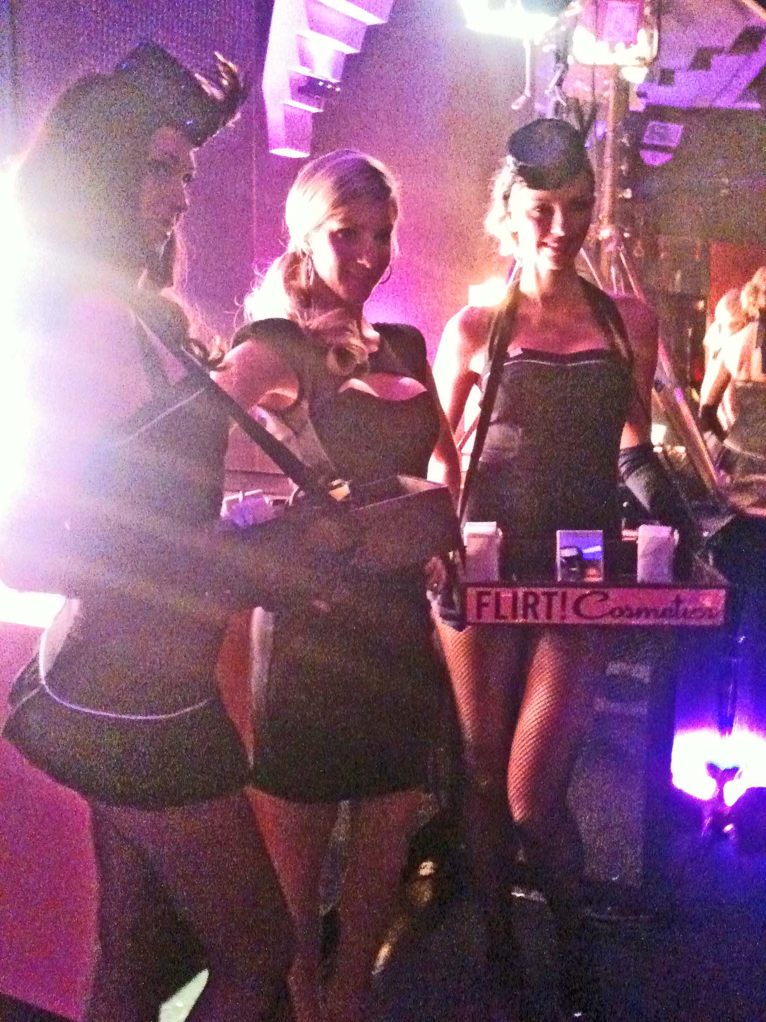 Costume branding candy girls