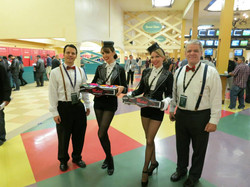 Branded Trays and Costumes