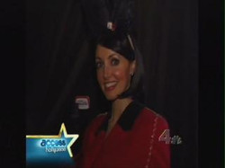 candy girl on Access Hollywood