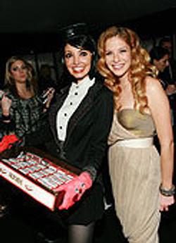 branded trays at Spirit Awards