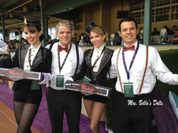Candy Girls and Ushers