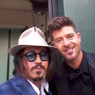 Tribute with Robin Thicke