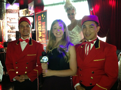 Channel 7 Bellhops and Champagne Gir