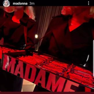 Madame X premier for Madonna!