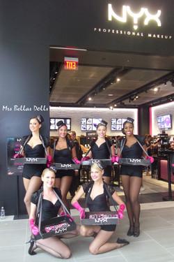 Bella's Dolls for NYX cosmetics