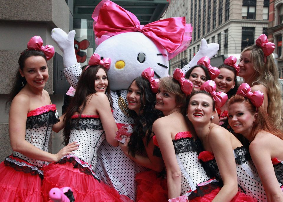 Candy Girls love Hello Kitty