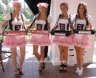 October Fest Beer Maidens- Bella's Dolls