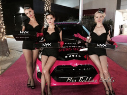 Professional models for NYX