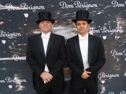 Ushers for Dom and David Lynch