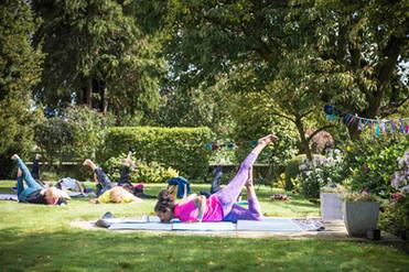 Charity Garden Yoga 2