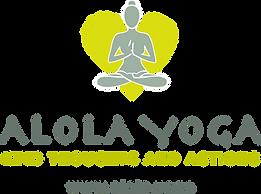 ALOLA YOGA logo