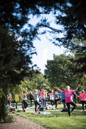 Charity Garden Yoga 3