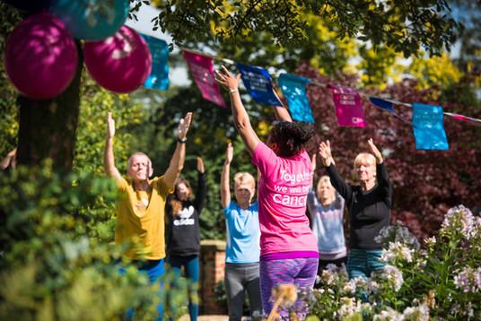 Charity Garden Yoga 14