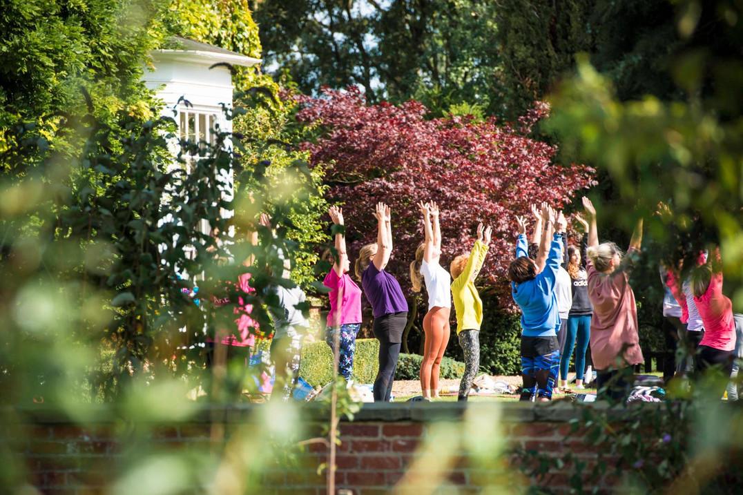 Charity Garden Yoga 13
