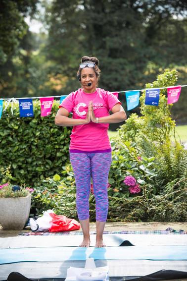 Charity Garden Yoga 9
