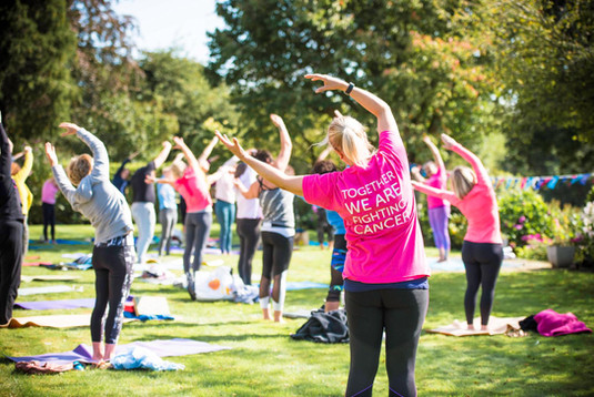 Charity Garden Yoga 8