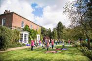 Charity Garden Yoga 12