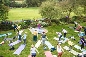 Charity Garden Yoga 7