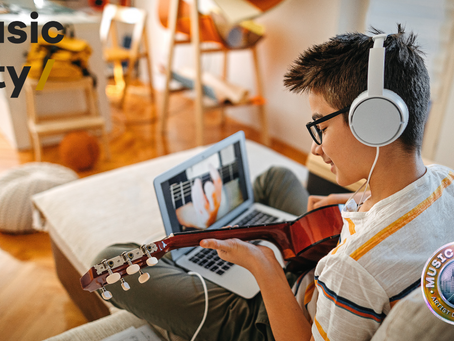 Music connects & empowers people even over Zoom!