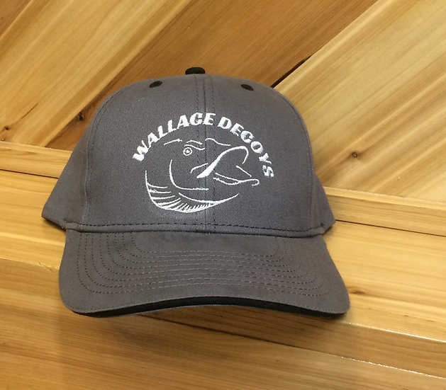 Dark Gray Logo Hat