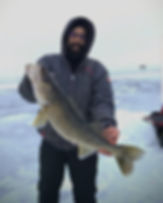 Trophy jumbo walleye