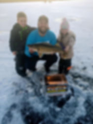 Rainy Daze Guide Service Walleye Fish Hot Box Ice Fishing