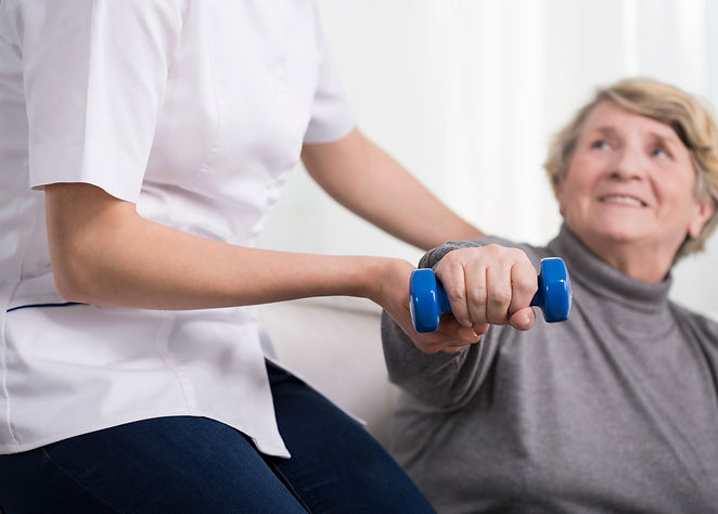 My Home Rehab offers physical strengthening exercises.