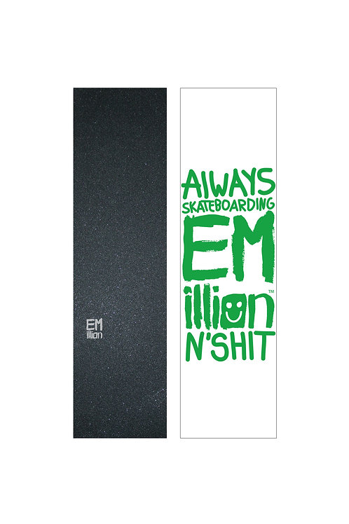 EMillion Small Logo Griptape / Grey / Single Sheet
