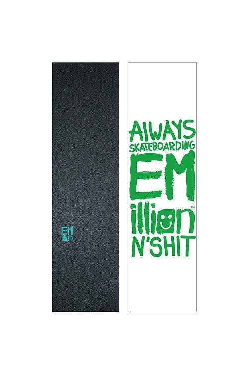 EMillion Small Logo Griptape / Turquoise / Single Sheet