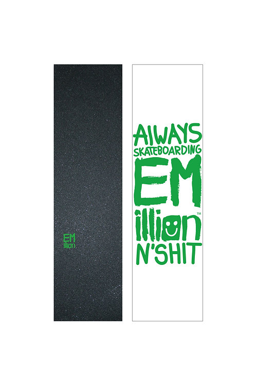 EMillion Small Logo Griptape / Green / Single Sheet