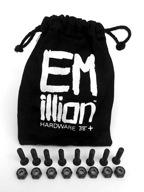 """EMillion Mounting Hardware - 7/8"""" Phillips - Black"""