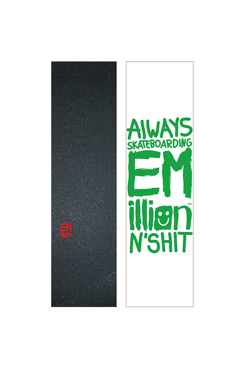 EMillion Small Logo Griptape / Red / Single Sheet