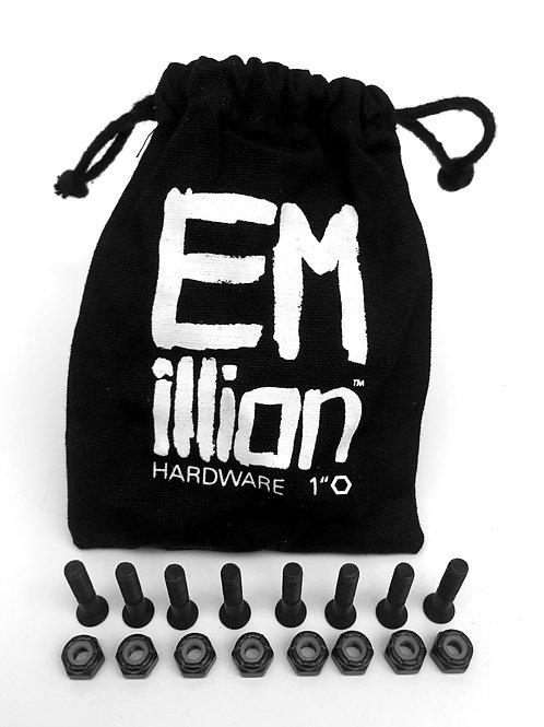 "EMillion Mounting Hardware - 1"" Allen - Black"