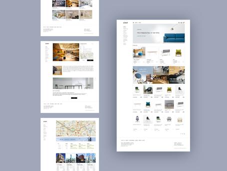 CREF, 인테리어 큐레이션, 가구 쇼핑몰, 부동산 통합 웹 플랫폼.