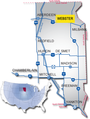 webster south dakota