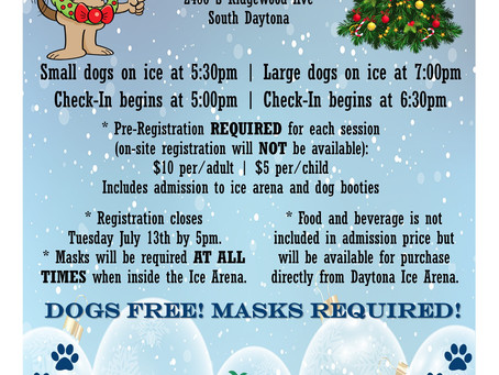 Dog Park on Ice- Christmas in July 2021