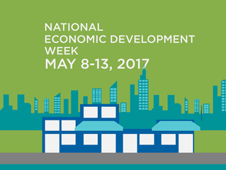 It's National Economic Development Week - May 8 - 13, 2017