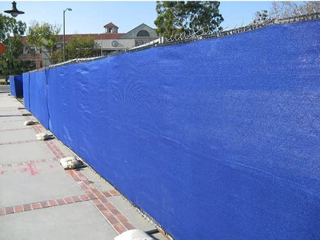 Raising funds for fence tarp