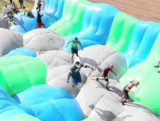 Chamberlain, SD Inflatable Run, July 2