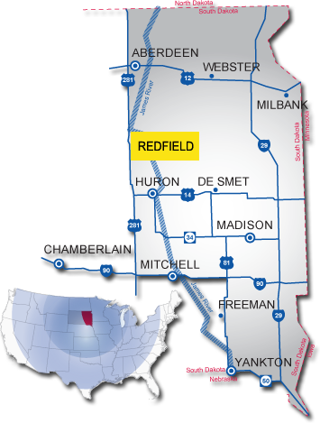 redfield south dakota