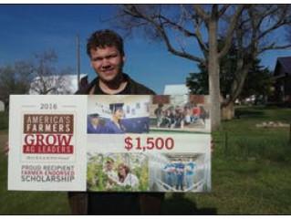 Pukwana student awarded $1,500 scholarship