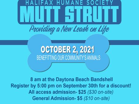 Mutt Strutt 2021 October 2nd
