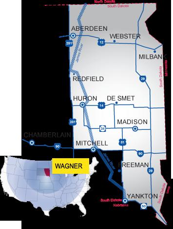wagner south dakota