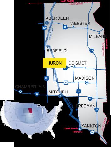 huron south dakota