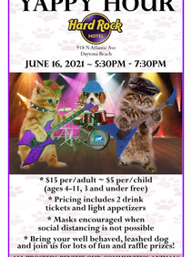Yappy Hour at Hard Rock Hotel