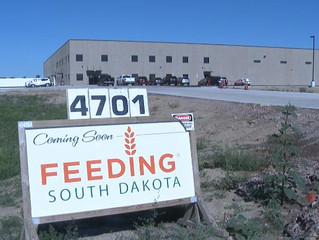 Feeding South Dakota receives 40,000 pounds in Land O'Lakes donation