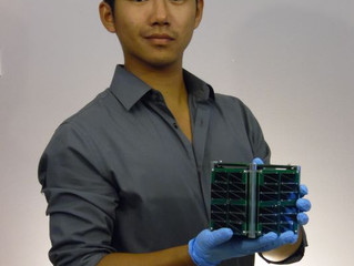 UND student from Milbank, SD launches spacecraft business